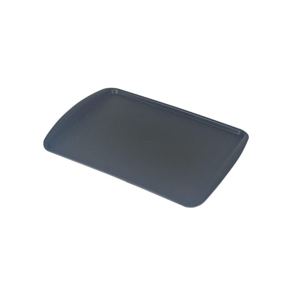 Bandeja de Plástico Preta 34x23 cm S200  Supercron