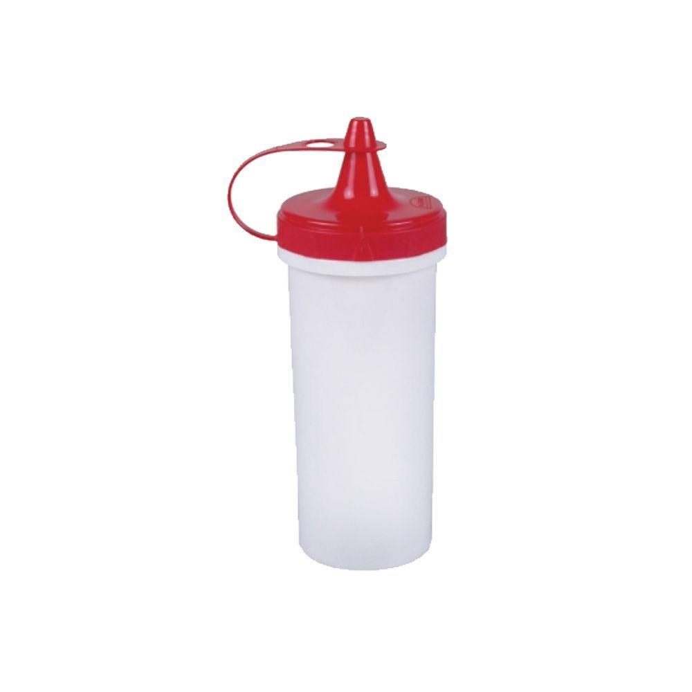 Bisnaga de Plástico Vermelha 280 ml - Plasútil