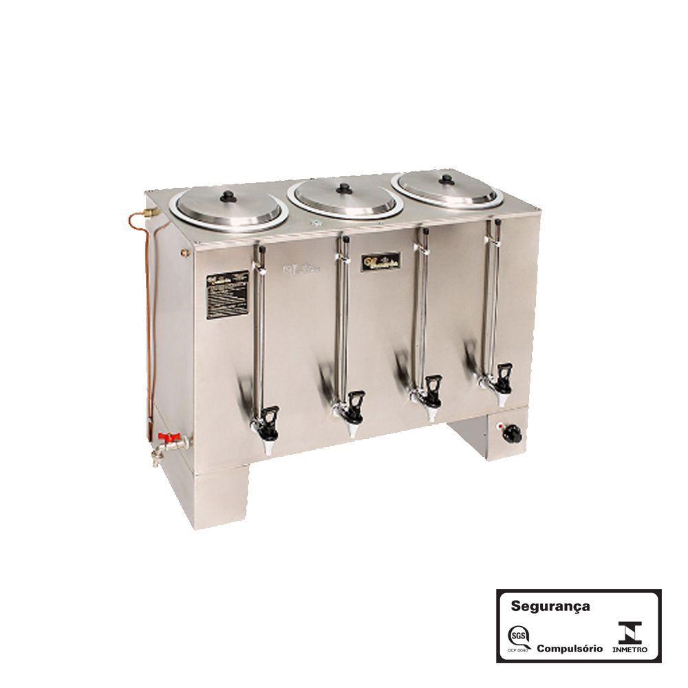 Cafeteira Industrial 40 Litros Retangular 220V Monarcha