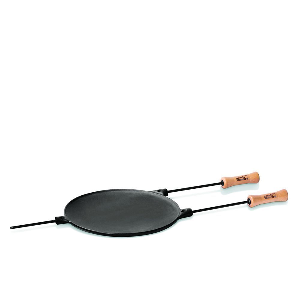 Chapa Disco de Ferro com Cabos 35cm Fumil