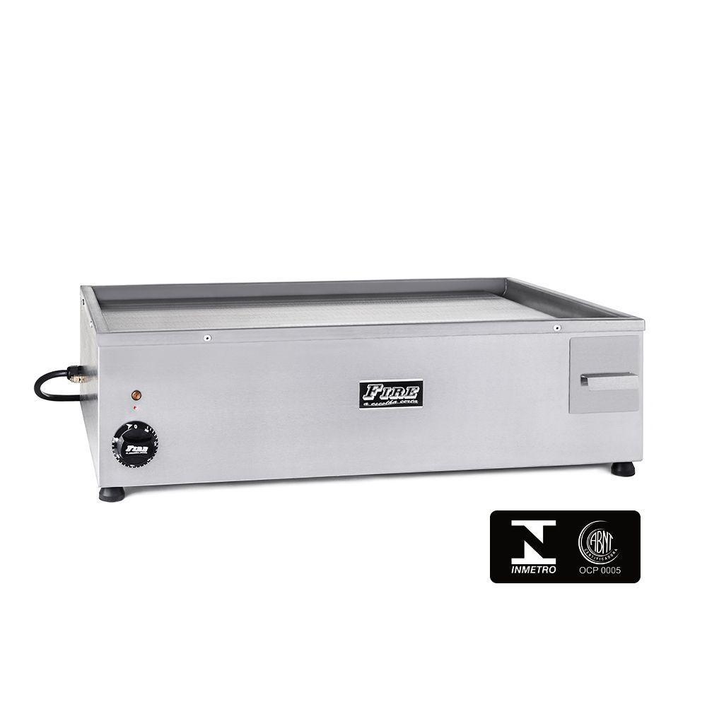 Chapa para Lanches Elétrica 100X50 220V 5000W Fire CE100