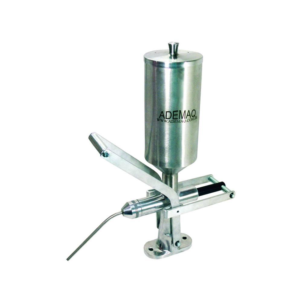 Doceira para Máquina de Churros em Inox Ademaq 2 litros