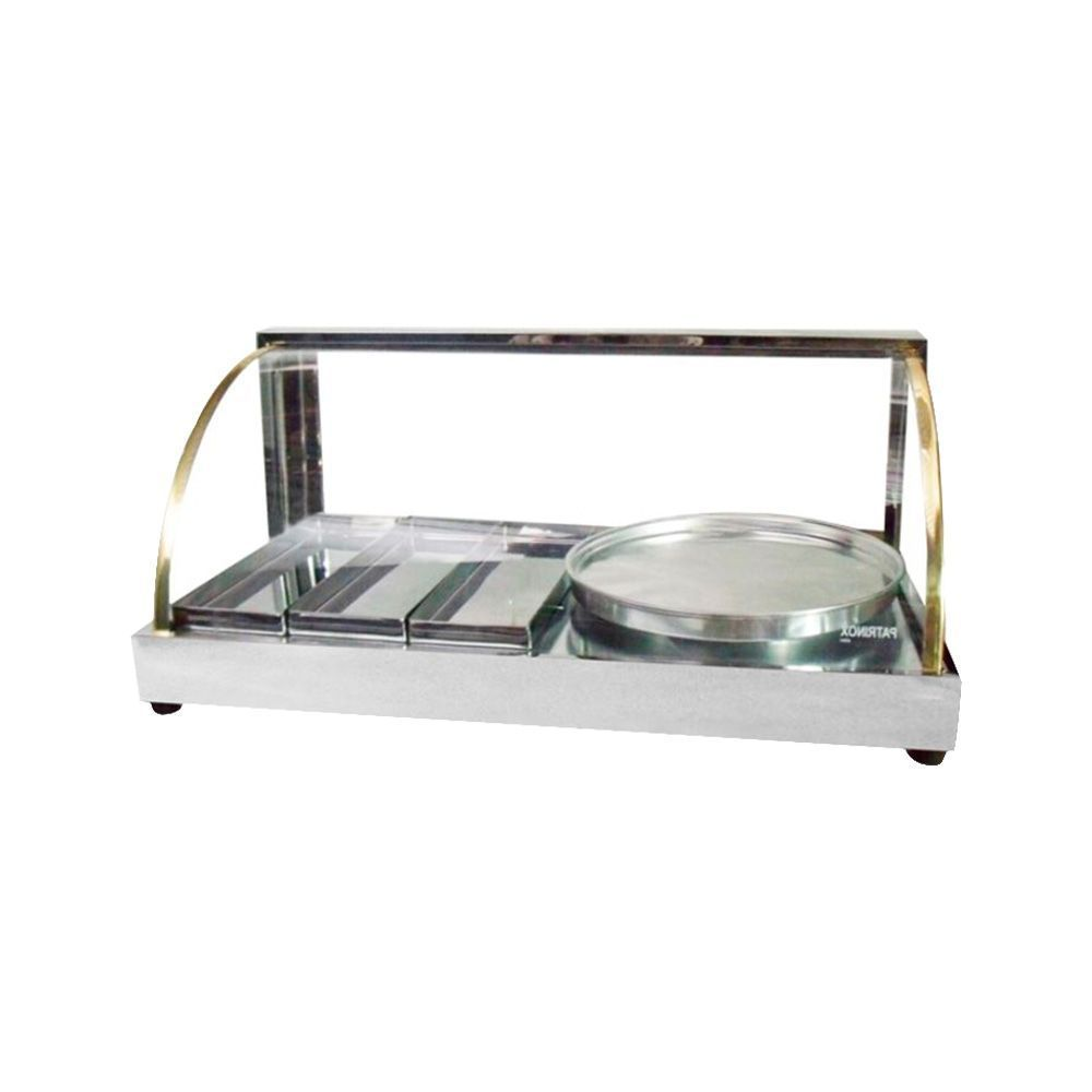Estufa para Salgados 3 Bandejas com 1 Porta Pizza - Patrinox