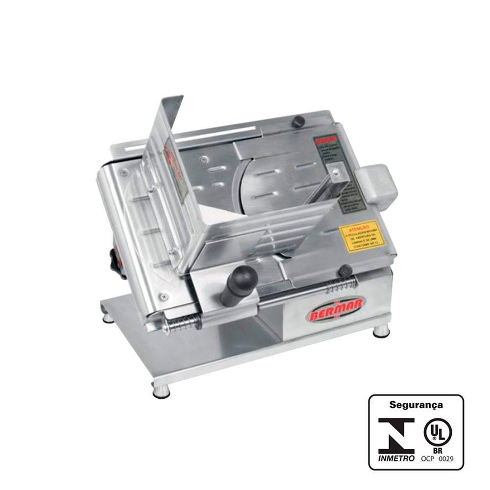 Fatiador de Frios Pequeno Porte Inox 196 mm Bivolt - Bermar