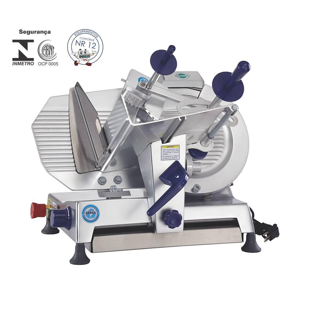 Fatiador de Frios Semi-Automático de 33 cm 1/3 cv 220V Gural