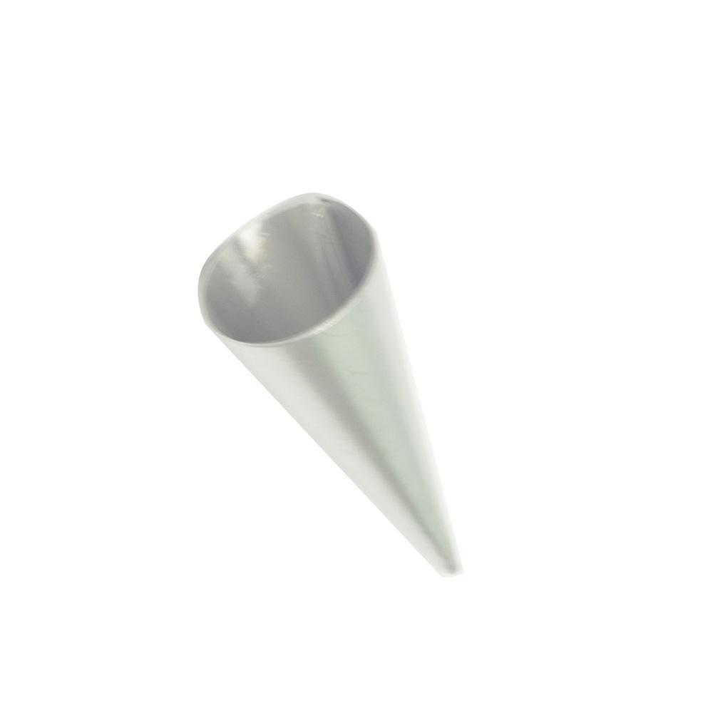 Forma de Canudinho Alumínio Boca de 2,5 cm e 8 cm Altura N1 Doupan 1437