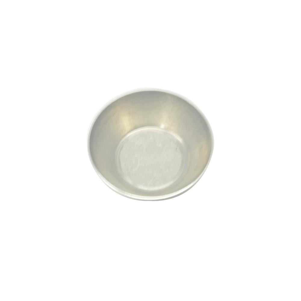 Forma de Empada Alumínio Lisa com Boca de 3,5 cm N00 Doupan 1218