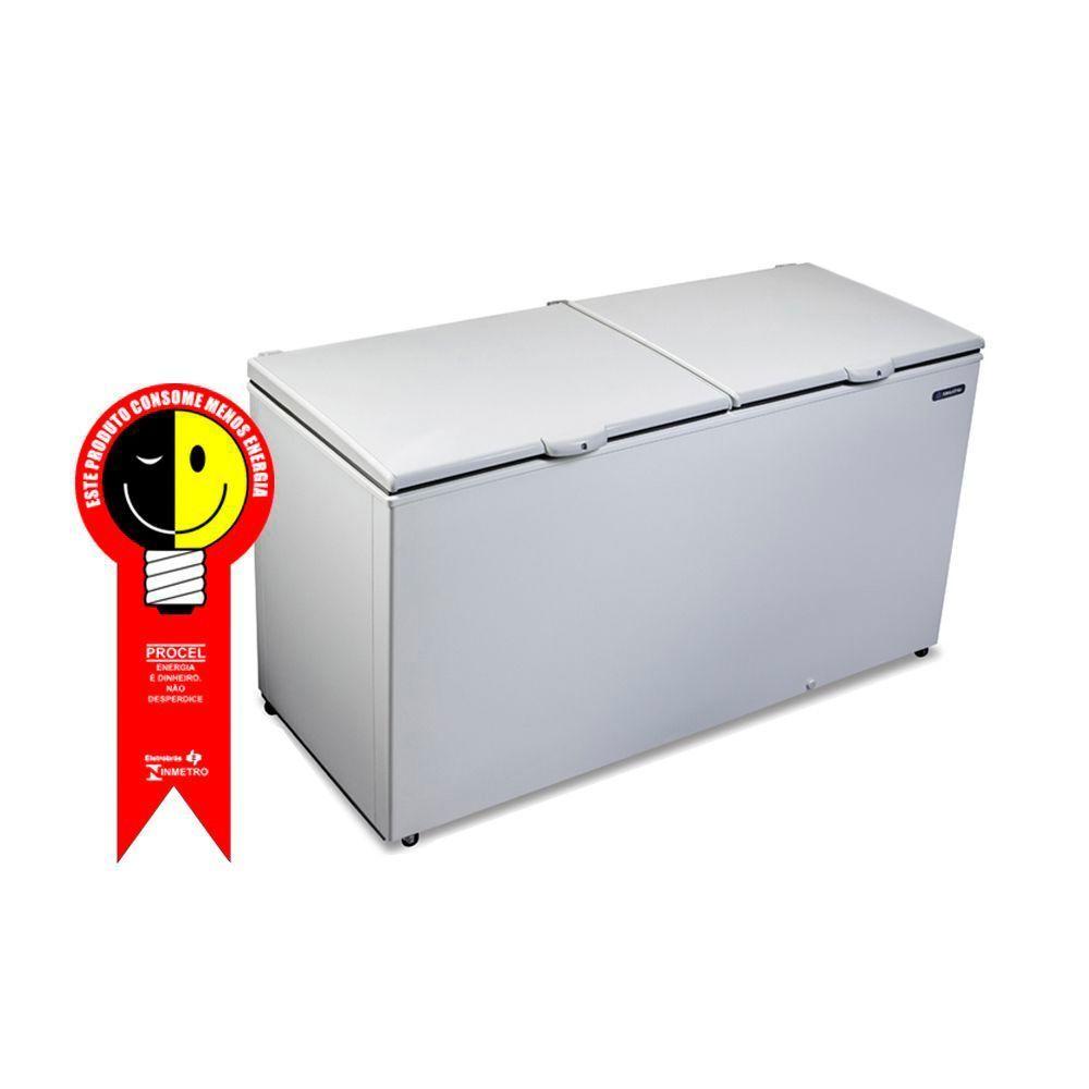 Freezer Horizontal Metalfrio 546 Litros com 2 Tampas Cega 220V - DA550