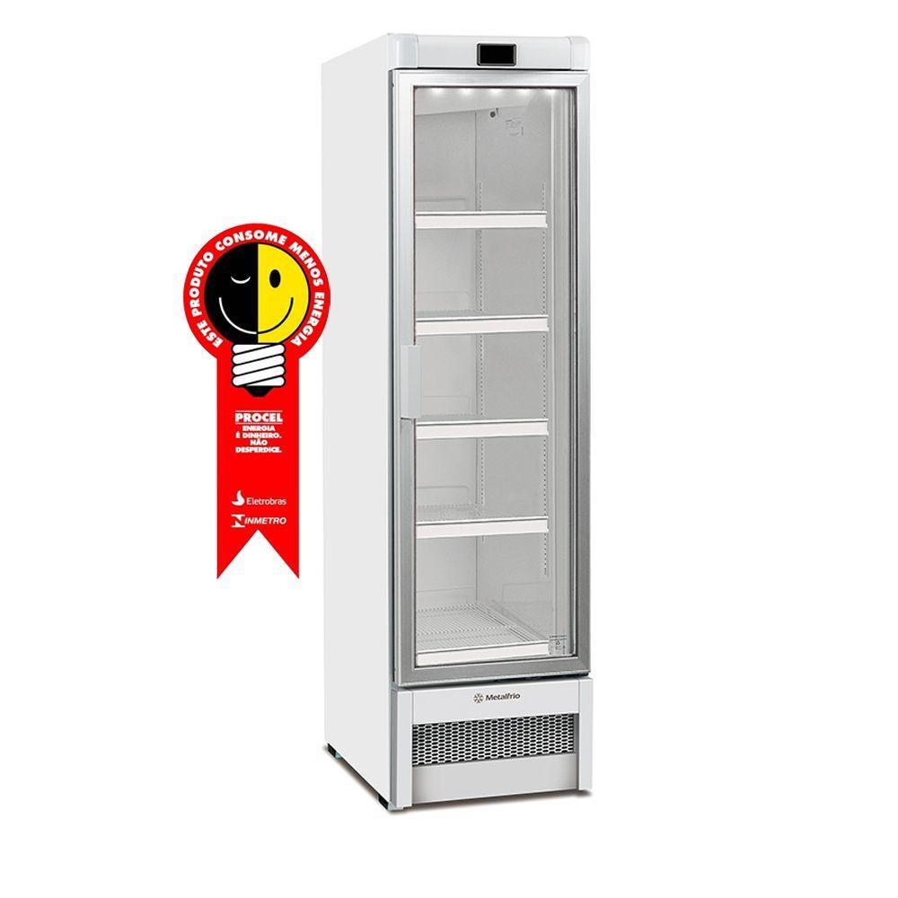 Freezer Vertical Metalfrio 323 Litros Porta de Vidro 220V - VF28F