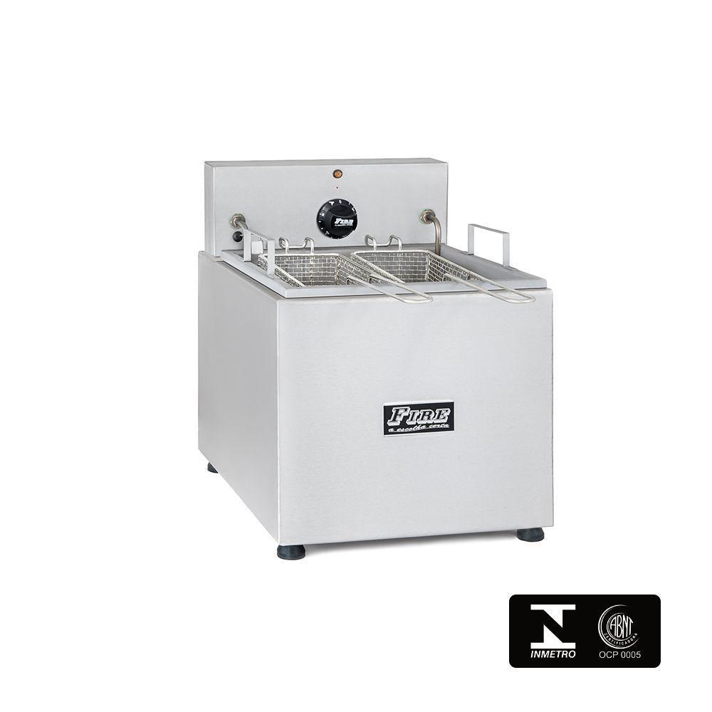 Fritadeira Elétrica Industrial Com Filtro de Água de Mesa 220V Fire FEQME