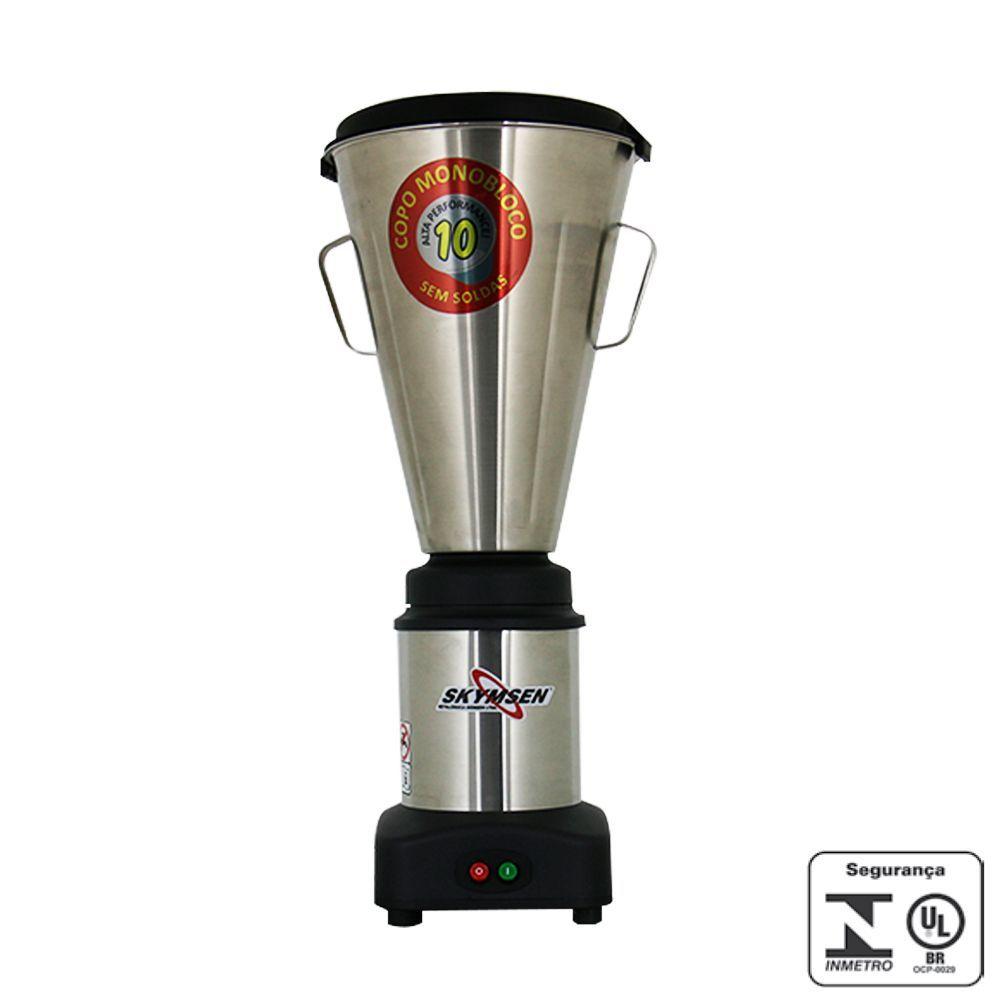 Liquidificador Industrial 10 Litros Inox Skymsen 220V