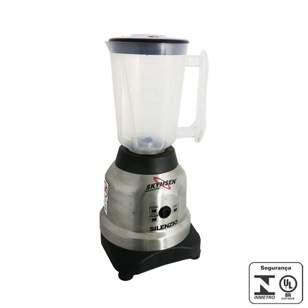 Liquidificador Industrial 1,5 Litros Copo de Plástico Silencioso Skymsen 220V