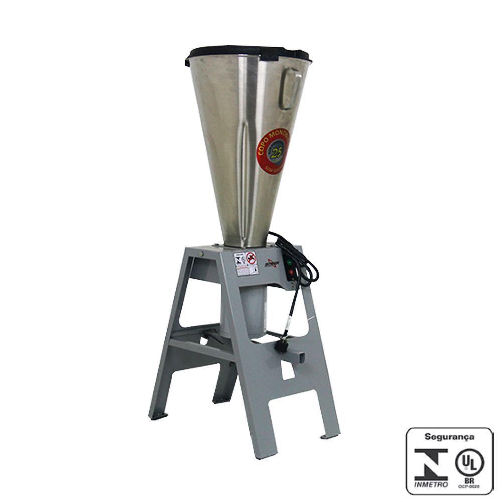 Liquidificador Industrial Basculante 25 Litros Inox Skymsen 220V