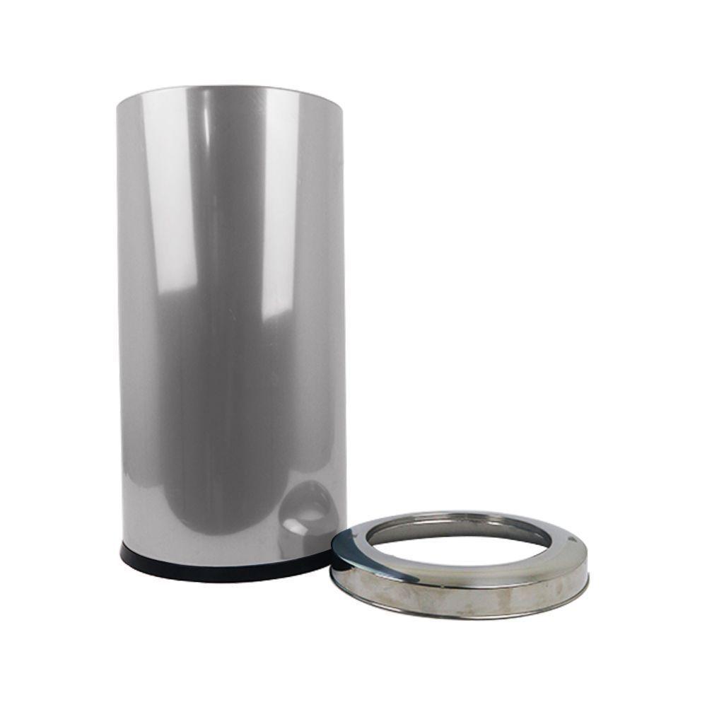 Lixeira Inox 40 Litros com Aro Brinox