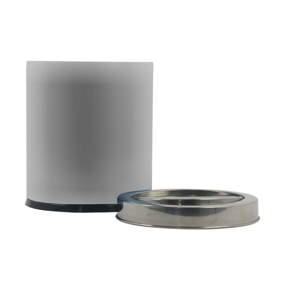 Lixeira Inox 5,4 Litros com Tampa Basculante Brinox