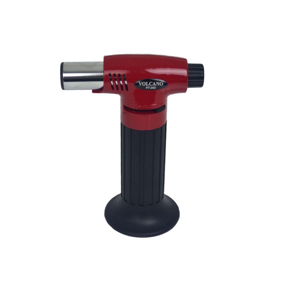 Maçarico de Cozinha à Gás Vermelho PT-200 Pro Torch Volcano