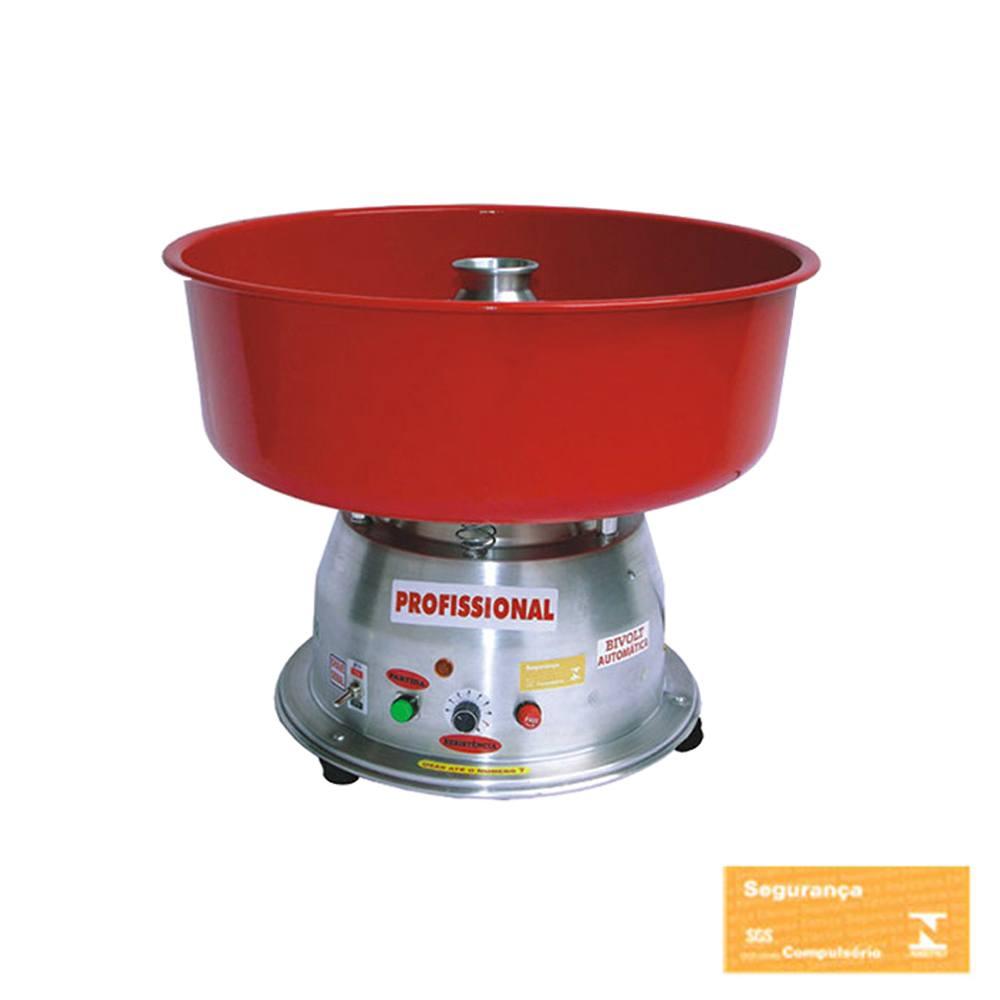 Máquina de Algodão Doce Profissional Vermelha  Ademaq Bivolt