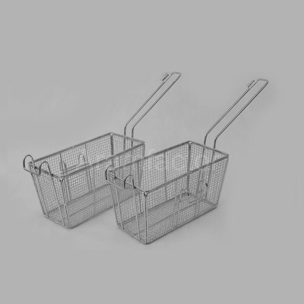 Peneira para Fritura Retangular 20x10 cm Lado Direito Aramfactor