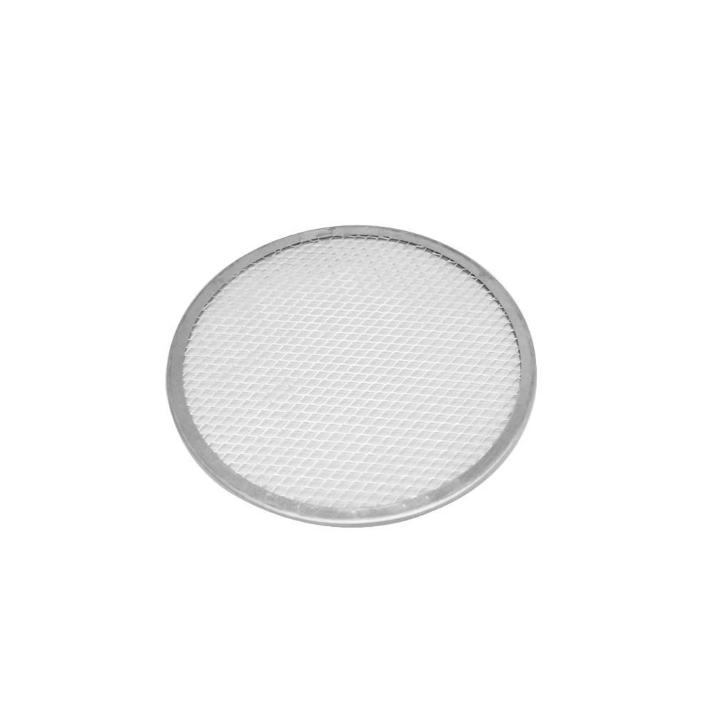 Tela Redonda para Pizza  20 cm Alumínio Doupan