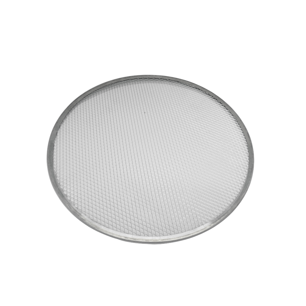Tela Redonda para Pizza  35 cm Alumínio Doupan