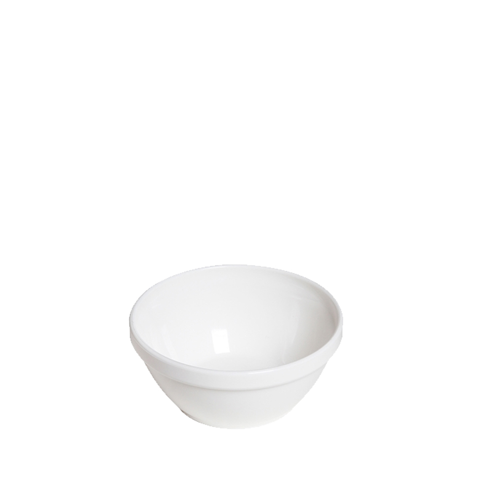 Tigela Cumbuca Bowl 250 ml Branca Polipropileno - Vemplast