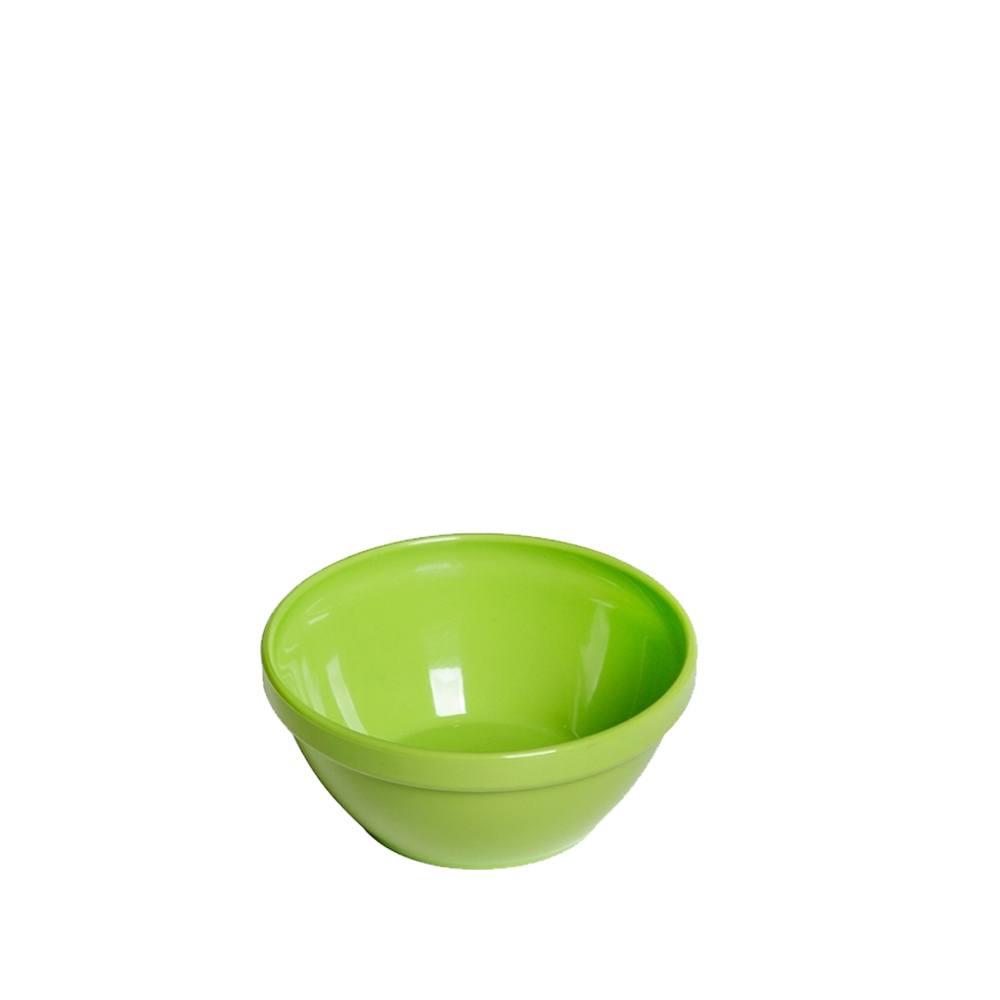 Tigela Cumbuca Bowl 250 ml Verde Claro Polipropileno - Vemplast