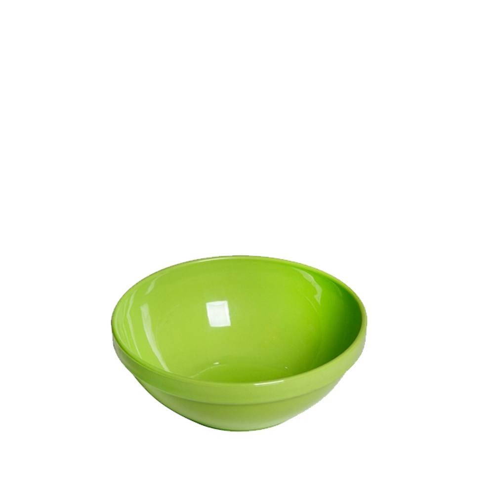 Tigela Cumbuca Bowl 350 ml Verde Claro Polipropileno - Vemplast