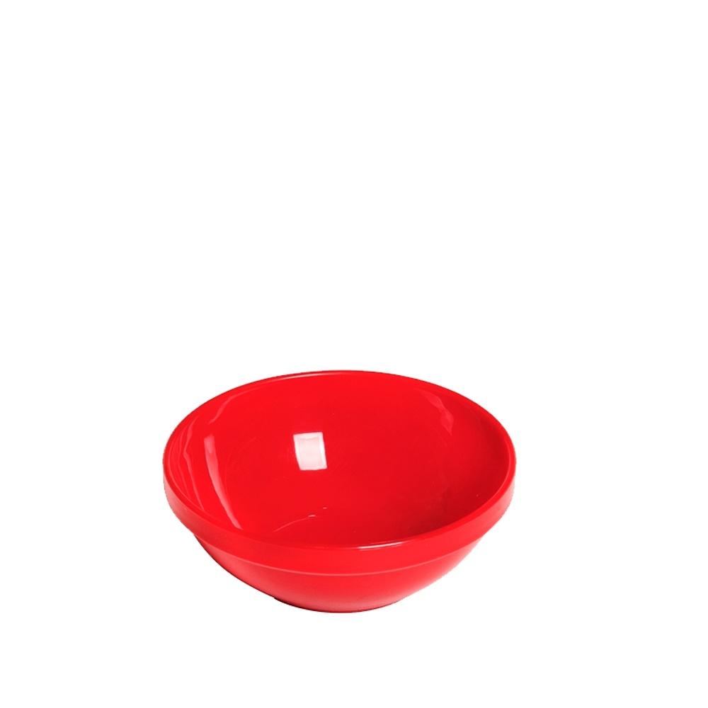Tigela Cumbuca Bowl 350 ml Vermelha Polipropileno - Vemplast