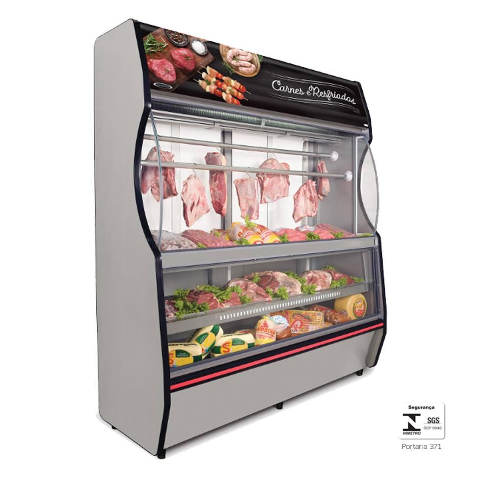 Vitrine Refrigerada para Açougue 2 Metros VTRC200 - Conservex