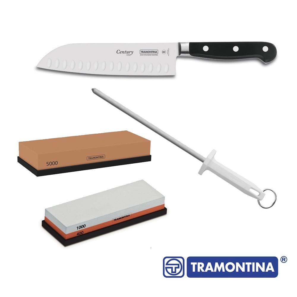 Kit Faca Chef Century Tramontina