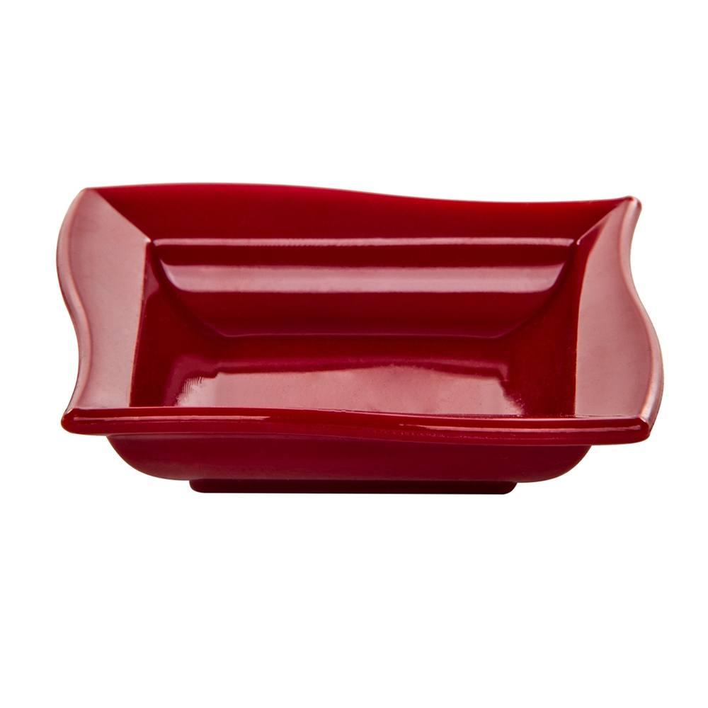 Molheira Moove Pequena 35 ml de Polipropileno Vermelha Vemplast