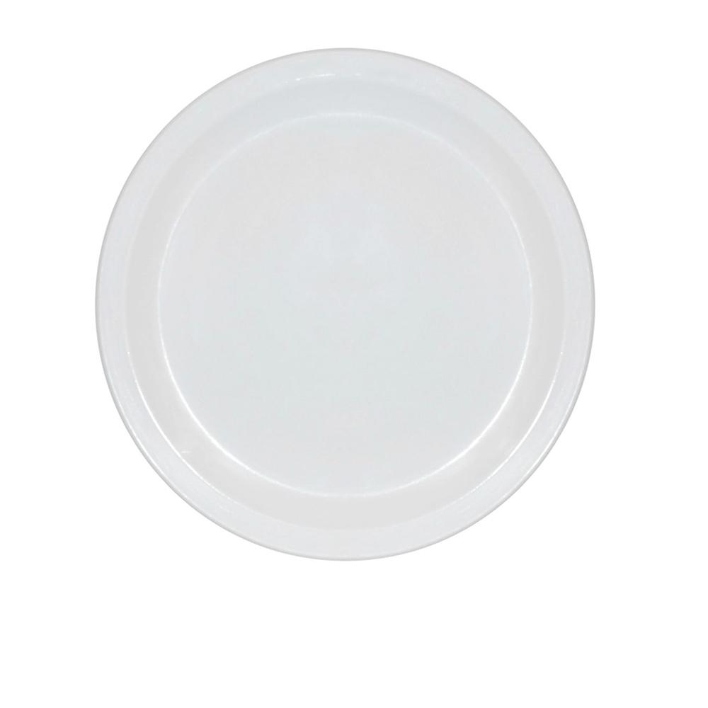 Prato Ellegance 19 cm de Polipropileno Branco Vemplast
