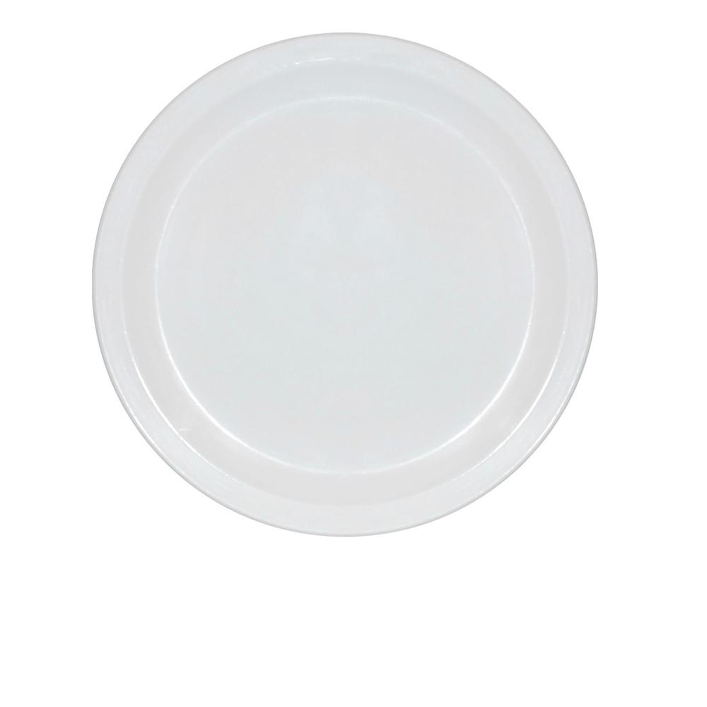 Prato Ellegance 25 cm de Polipropileno Branco Vemplast