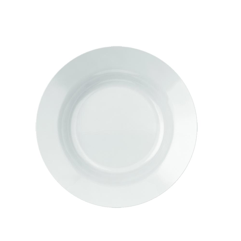 Prato Fundo Menu 23 cm Branco 12 pçs Nadir Figueiredo 5843