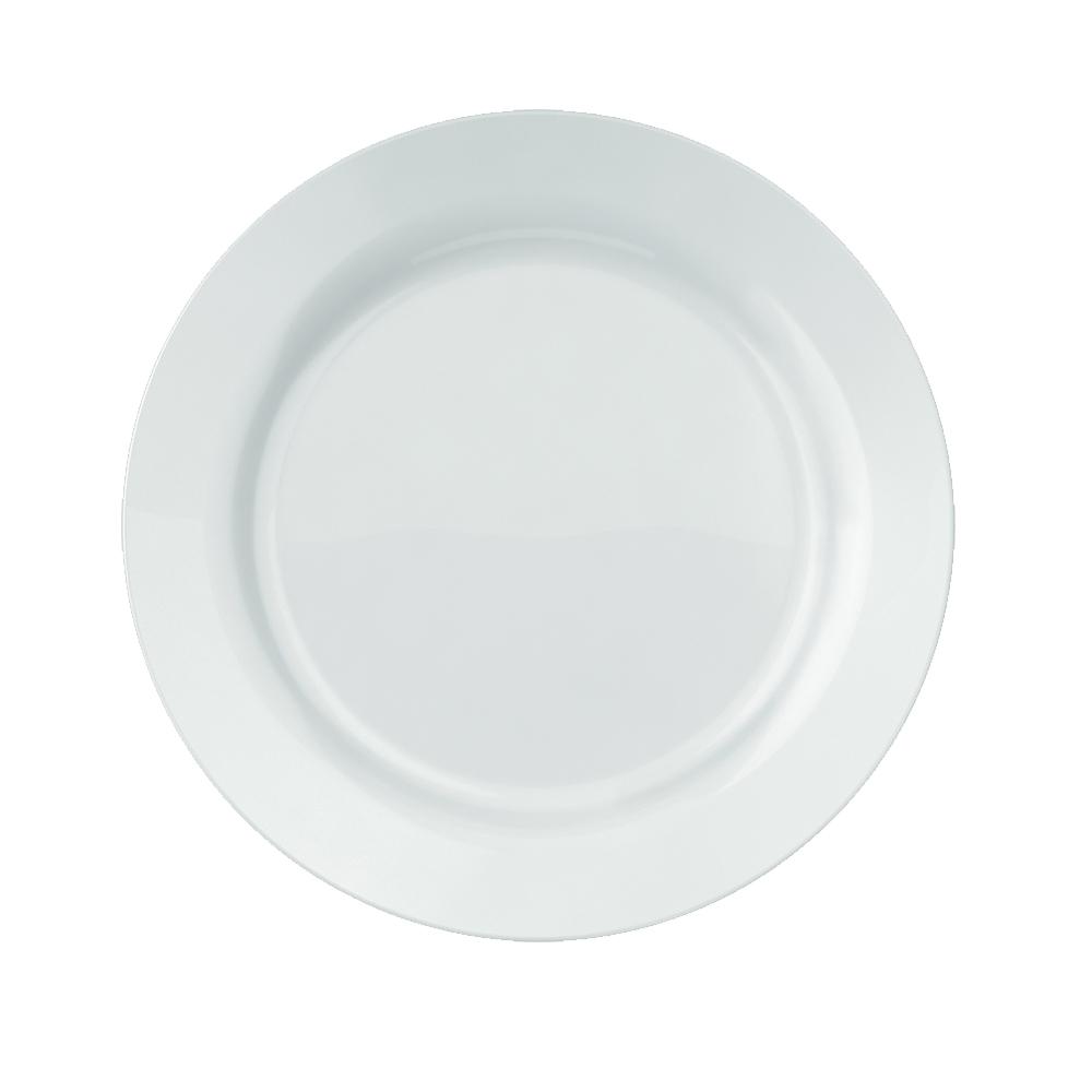 Prato Raso Duralex Versi 26 cm Branco Nadir Figueiredo 5553