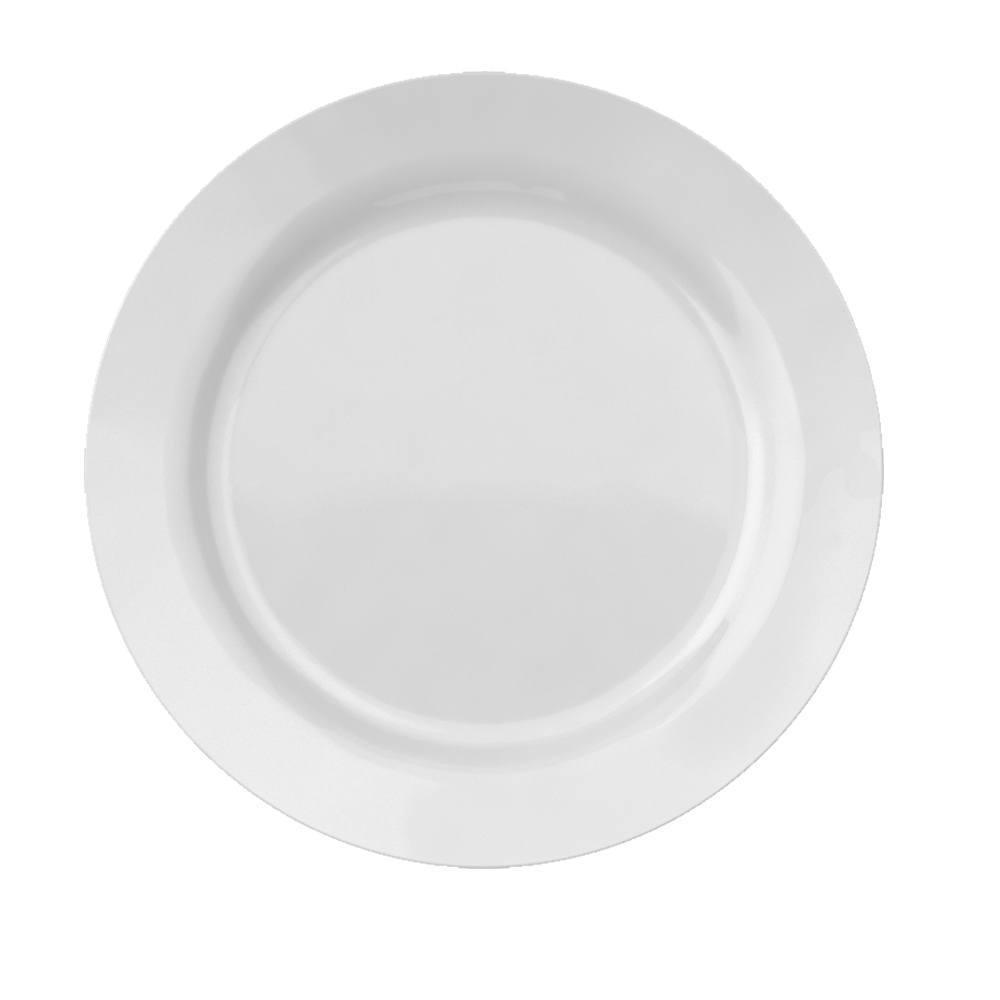 Prato Raso Grande Menu 31 cm Branco  Cx 12 pçs Nadir Figueiredo 5643
