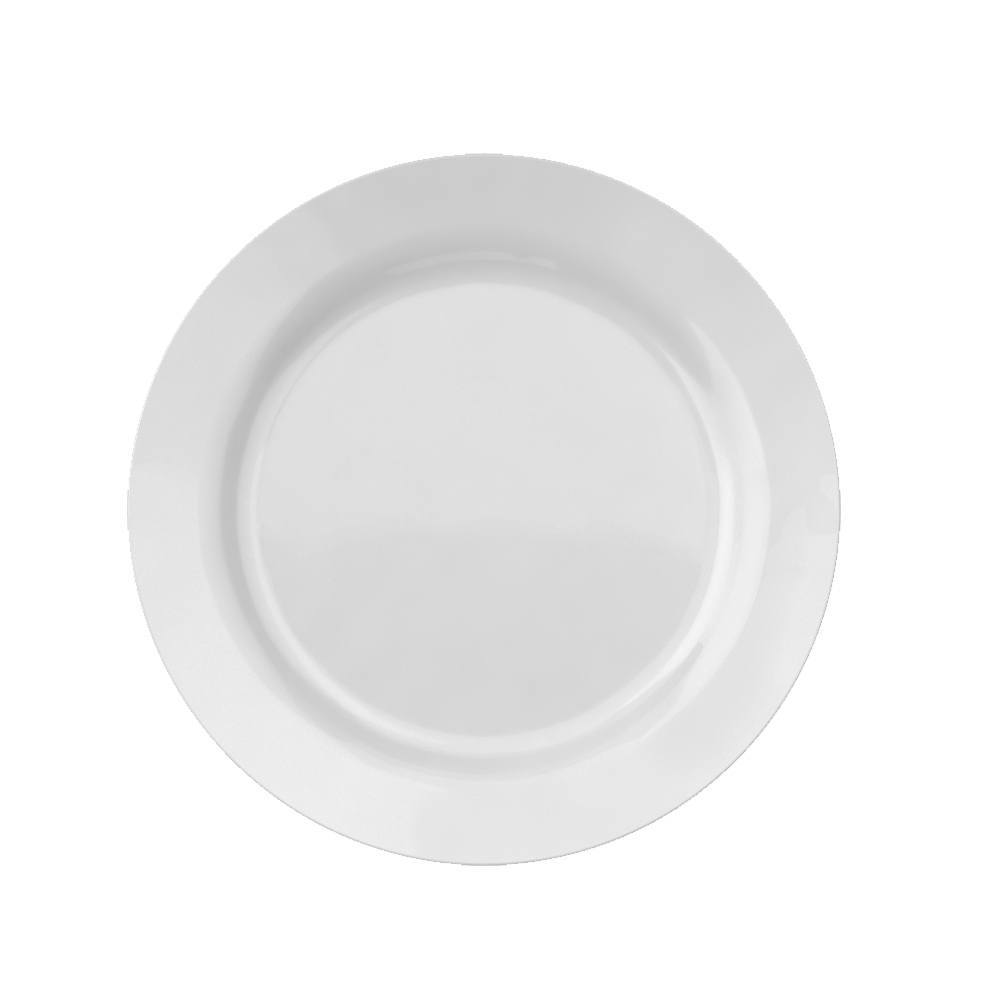 Prato Raso Menu 24 cm Branco Cx 24 pçs Nadir Figueiredo 5743