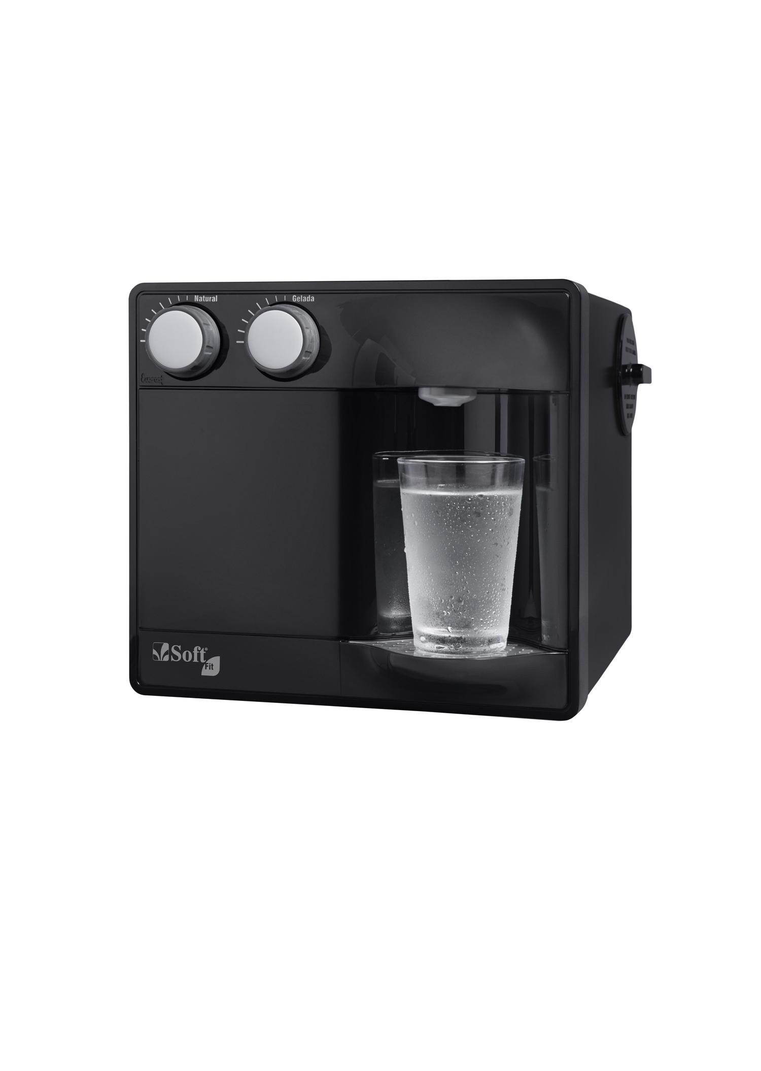 Purificador Água Soft Fit New Black 110V 51690