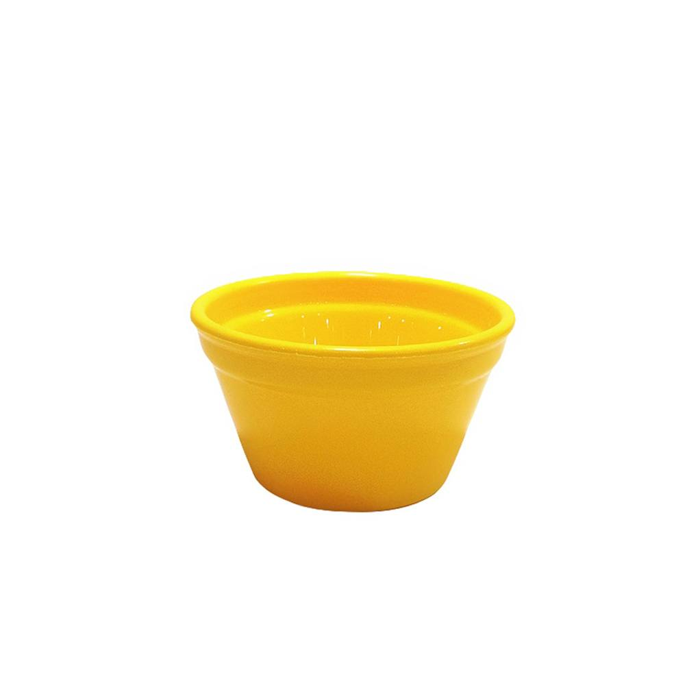 Ramequim Cheff 150 ml de Polipropileno Amarelo Vemplast