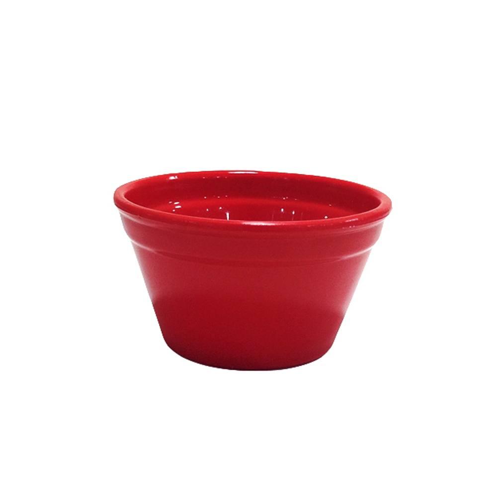Ramequim Cheff 240 ml de Policarbonato Vermelho Vemplast