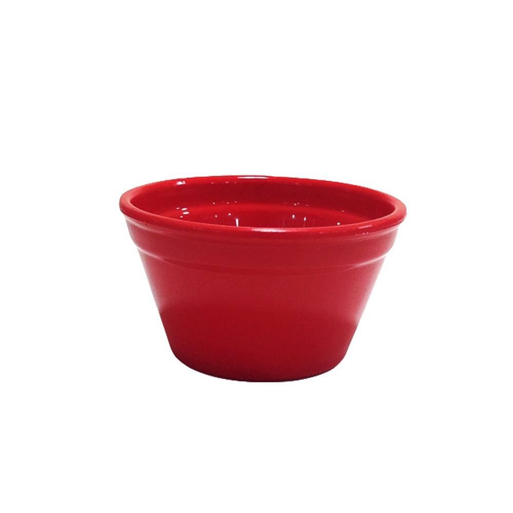 Ramequim Cheff 240 ml de Polipropileno Vermelho Vemplast