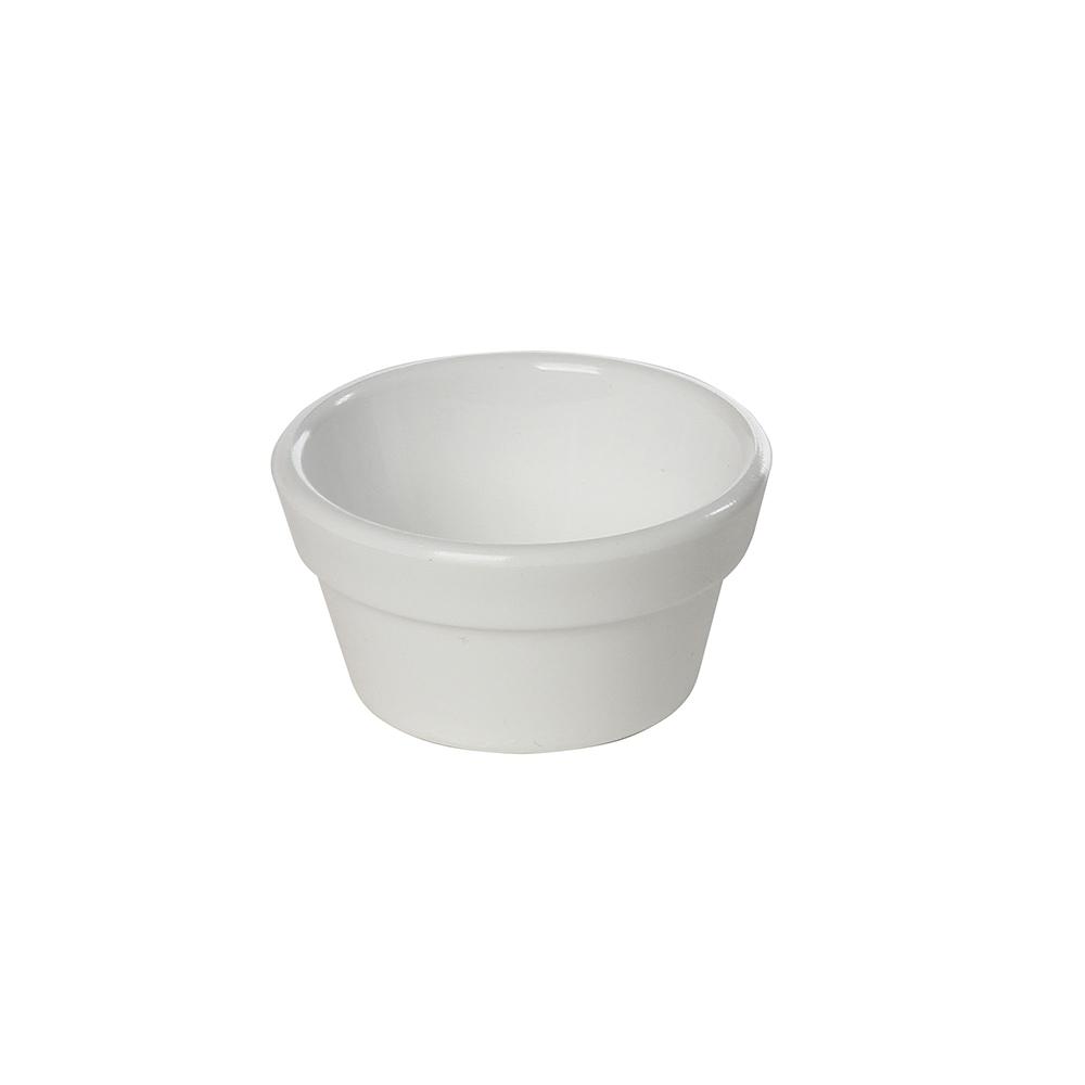 Ramequim Cheff 30 ml de Polipropileno Branco Vemplast