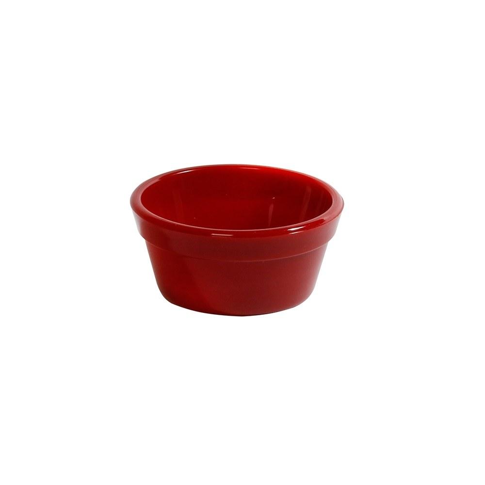 Ramequim Cheff 60 ml de Policarbonato Vermelho Vemplast