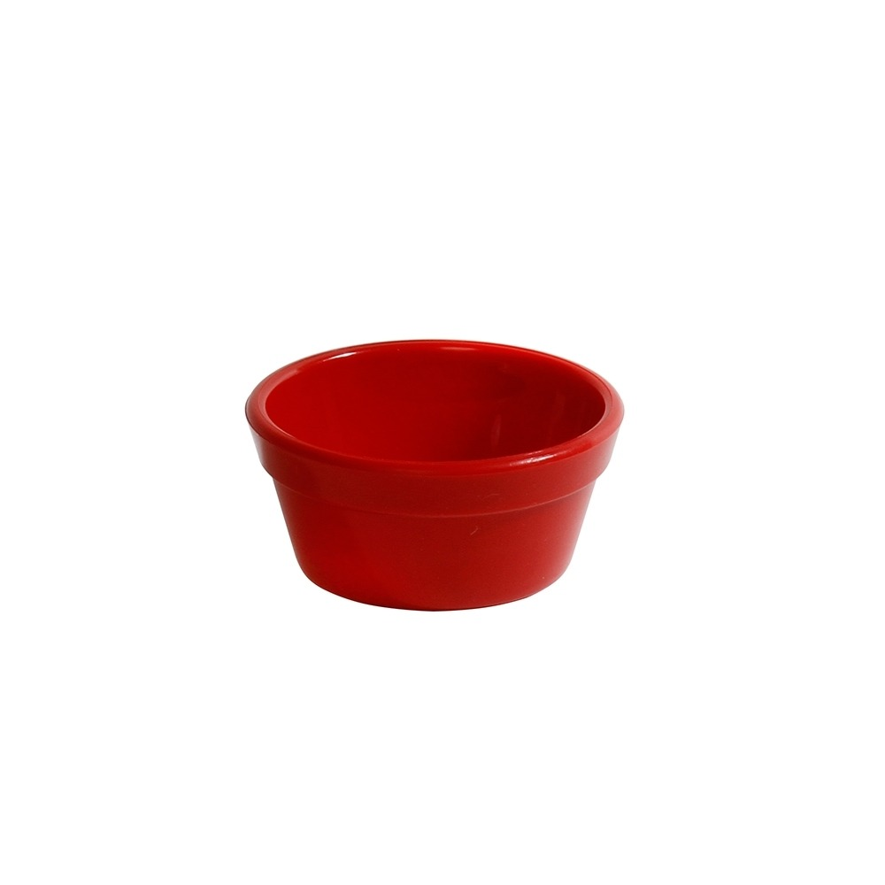 Ramequim Cheff 60 ml de Polipropileno Vermelha Vemplast
