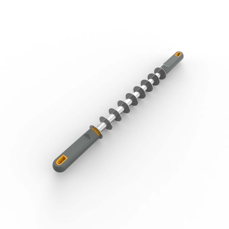 Rolo Cortador de Massa Ravioli e Agnoline de 8 Tiras de 2,9 cm Anodilar