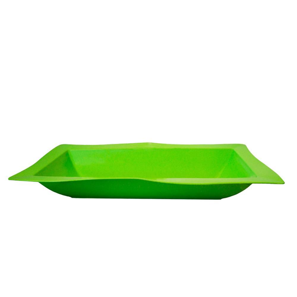Saladeira Moove Grande de Polipropileno Verde 5L Vemplast