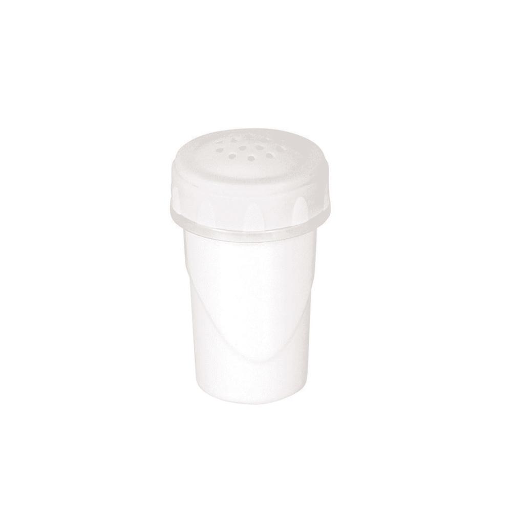 Saleiro de Plástico com Tampa Rosca Clic Plasútil
