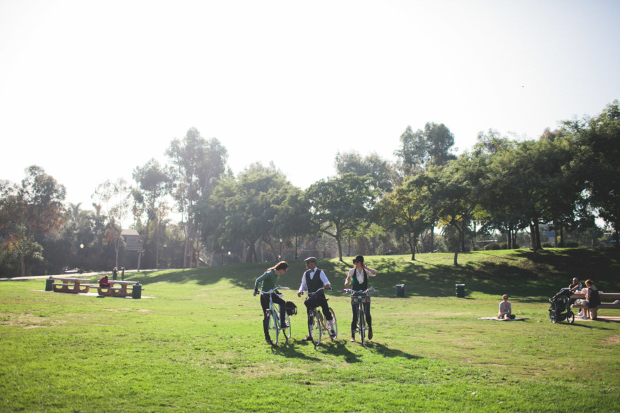 The San Diego Tweed Ride – Photo by Let's Frolic Together