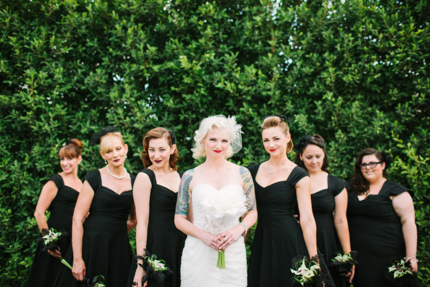 A Glam Old-Hollywood Affair – Photo by Let's Frolic Together