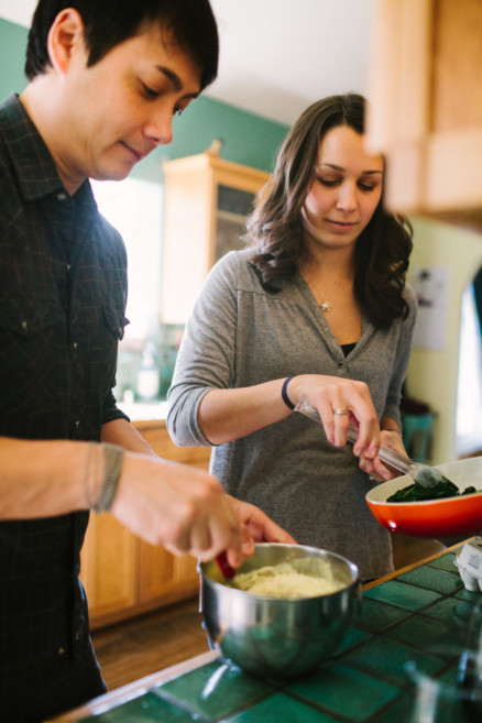 A Sweet Cooking Engagement – Photo by Let's Frolic Together